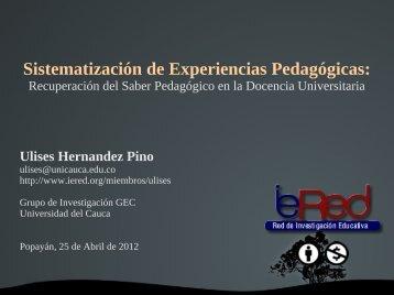 2. El Saber Pedagógico en la Docencia Universitaria - ieRed