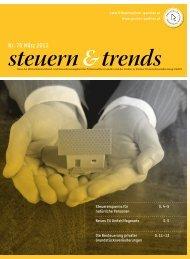 Steuern & Trends März 2013 - Gruber & Partner ...