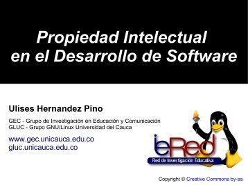 Propiedad Intelectual en el Desarrollo de Software - ieRed