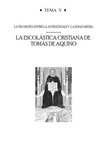 Apuntes Tema 5-Tomás de Aquino - IES Miguel Catalán