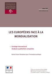 la mondialisation - The Institute for European Studies
