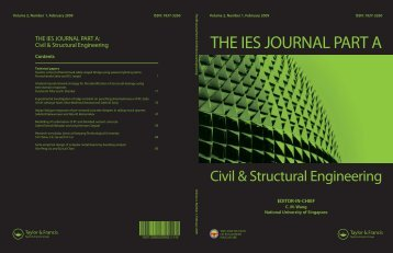 THE IES JOURNAL PART A - Institution of Engineers Singapore