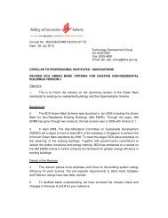 Revised BCA Green Mark Criteria for Existing Non-Residential ...