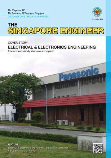 DECEMBER 2012 MICA (P) - Institution of Engineers Singapore