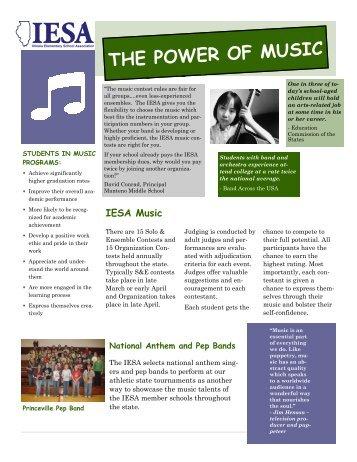 Music Promo Flyer.pub - Illinois Elementary School Association