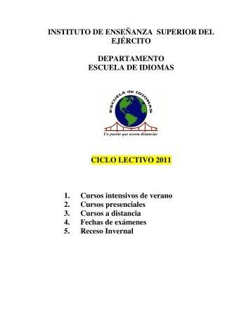 2. Cursos presenciales 2011 - IESE