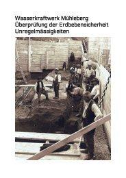 Wasserkraftwerk Mühleberg Überprüfung der ... - Greenpeace