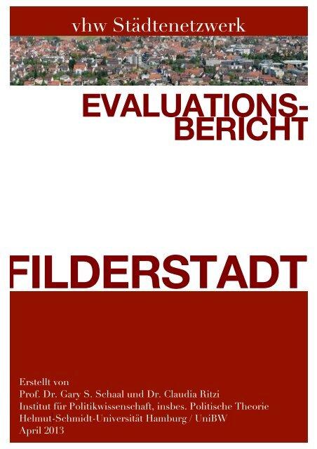 Evaluationsbericht Filderstadt - VHW