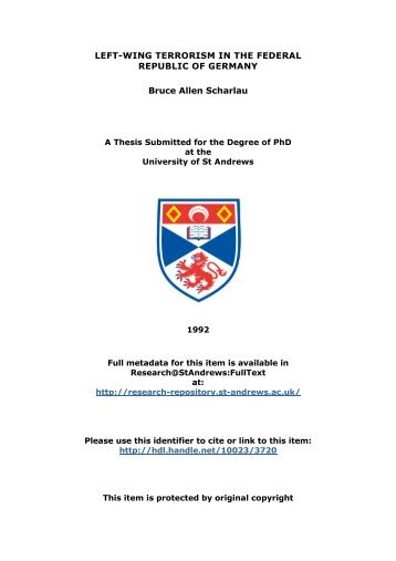 Bruce Allen Scharlau PhD thesis - Research@StAndrews:FullText