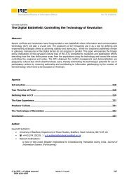pdf-fulltext - International Review of Information Ethics