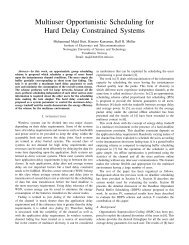 Multiuser Opportunistic Scheduling for Hard Delay ... - NTNU