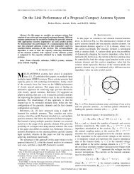 On the Link Performance of a Proposed Compact Antenna ... - NTNU