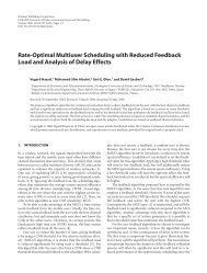 Rate-Optimal Multiuser Scheduling with Reduced Feedback ... - NTNU