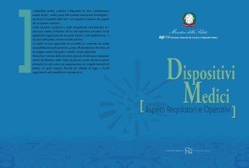 Dispositivi medici. Aspetti regolatori e operativi - Ministero della Salute