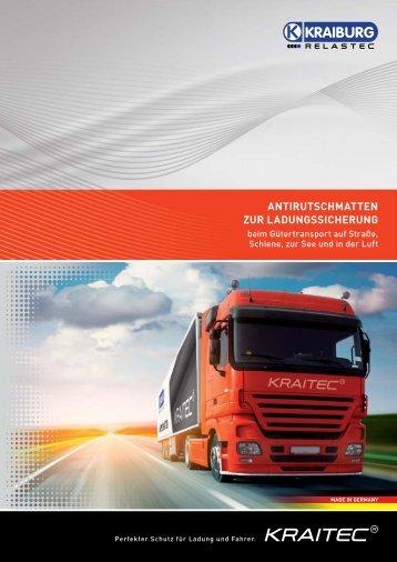 antirutschmatten zur ladungssicherung - KRAIBURG Relastec