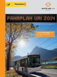 Fahrplan 2014 (1. Teil) - Auto AG Uri