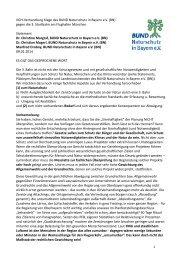 VGH-Verhandlung Klage des BN gegen die 3 - Bund Naturschutz in ...