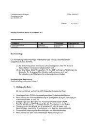 KSD Redaktionssystem - 4. Ãœbersicht alle Gemeinderat - Stuttgart