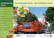 Abfallkalender2014 - Frankfurt