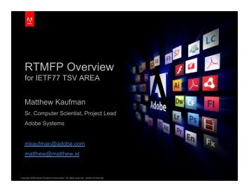RTMFP Overview