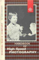 Handbook of High Speed Photography - IET Labs, Inc.