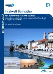 Inselwelt Dalmatien - Bayern 1 Radioclub