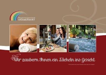 Prospekt downloaden - Hotel Kramerwirt