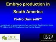South America - International Embryo Transfer Society