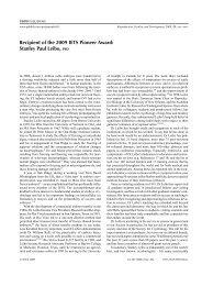 Stanley P. Leibo - International Embryo Transfer Society