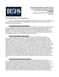 June 2011 - International Embryo Transfer Society