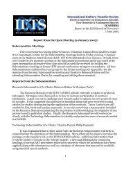 June 2005 - International Embryo Transfer Society