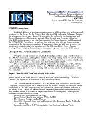 January 2007 - International Embryo Transfer Society