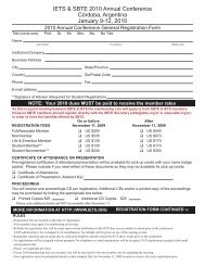 Printable Registration Form