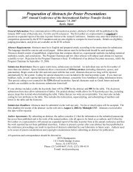 Submission Instruction - International Embryo Transfer Society