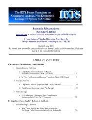 Resource Manual - International Embryo Transfer Society