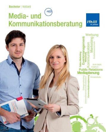 Media- und Kommunikationsberatung (Bachelor) - FH St. Pölten