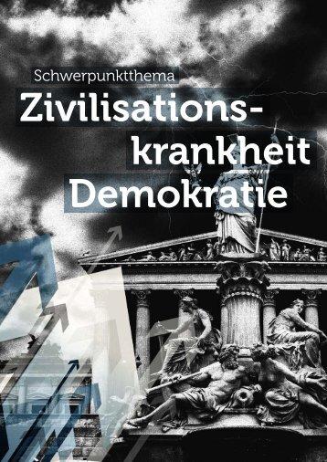 Zivilisationskrankheit Demokratie