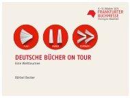 Viele gute Gründe, um teilzunehmen! - Frankfurter Buchmesse