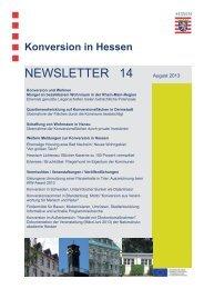 2013 Konversion in Hessen - Hessisches Ministerium für Wirtschaft ...