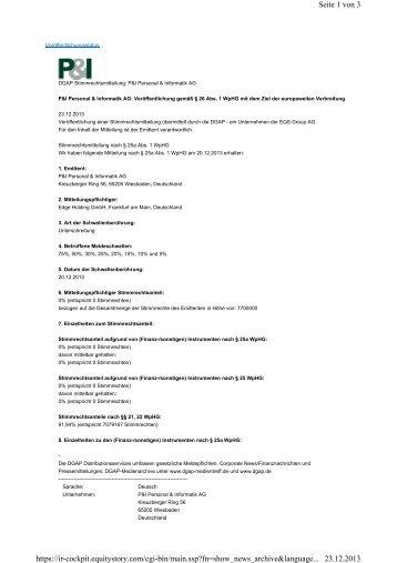 Seite 1 von 3 23.12.2013 https://ir-cockpit.equitystory.com/cgi-bin ...