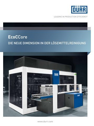 EcoCCore - Dürr
