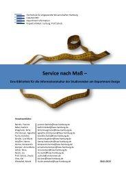 Projektbericht - Department Information - HAW Hamburg