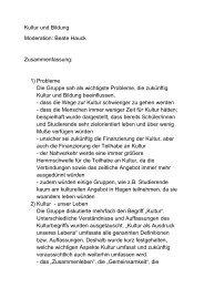 Zusammenfassung - Hagen