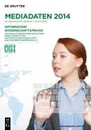 Information Wissenschaft & Praxis - Walter de Gruyter