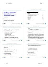 Beschallungsanlagen in Räumen Teil 3 (Messtechnik und STI)