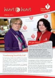 did you know? Women are more - National Heart Foundation
