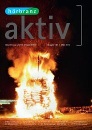 Aktuelles aus unserem Ortsgeschehen Ausgabe 187 | März 2012