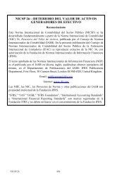 International Public Sector Accounting Standard 36 XX - IFAC