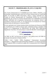 Propiedades, Planta y Equipo - IFAC