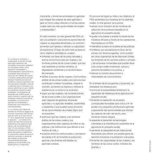 Marco Estratégico del FIDA 2011-2015 - IFAD